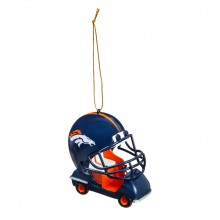 Denver Broncos  Field Car Ornament