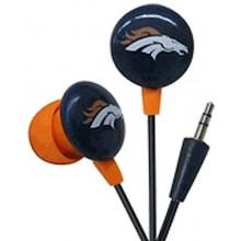 Denver Broncos Ihip Earbuds Headphones