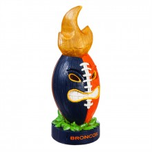 Denver Broncos 12 inch Light Up Tiki Totem