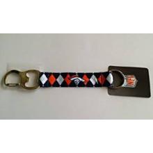 Denver Broncos Argyle Carabiner Lanyard Key Chain