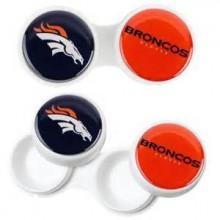 Denver Broncos 2 Pack Contact Lens Case