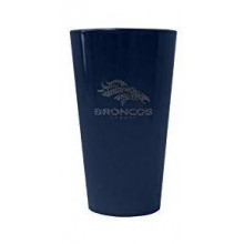 Denver Broncos 16 oz Glitter Pint Glass