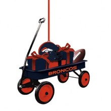 Denver Broncos Team Wagon Ornament