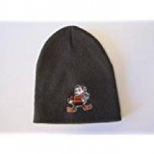 NFL Cleveland Browns Classic Winter Knit Beanie Cap Lid Toque