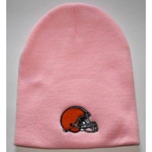 NFL Licensed Cleveland Browns Pink Classic Beanie