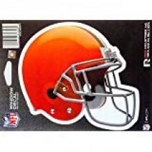 """Cleveland Browns 6"""" Helmet Die-Cut Window Decal"""