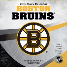 Boston Bruins 2019 Boxed Desk Calendar