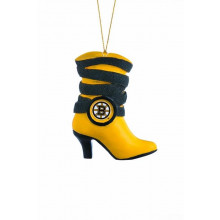 Boston Bruins Hanging Boot Ornament