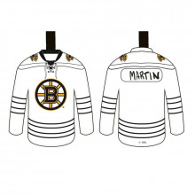Boston Bruins Color Your Own Ceramic Jersey Ornament
