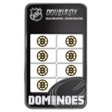 Boston Bruins Collectors Edition Double Six Dominoes