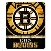 "Boston Bruins Fade Away  50"" x 60"" Fleece Throw Blanket"