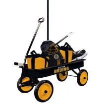 Boston Bruins Team Wagon Ornament