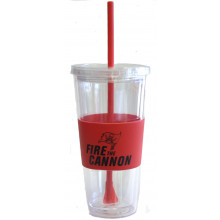 "Tampa Bay Buccaneers ""Fire the Cannon"" Slogan 22 oz Tumbler"