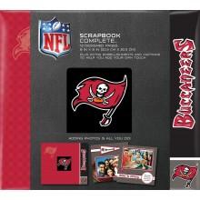 """Tampa Bay Buccaneers 8"""" X 8"""" Complete Scrapbook"""