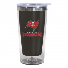 Tampa Bay Buccaneers 16-Ounce Color Change Tumbler with Lid
