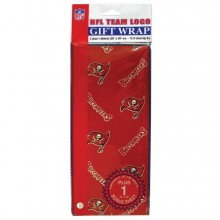 Tampa Bay Buccaneers Flat Gift Wrap 12.5 sq. ft.