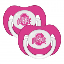 Ohio State Buckeyes Baby Fanatics 2 Pack Pink Pacifiers
