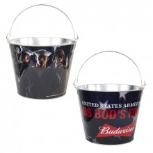 """Budweiser """"USA Armed Forces This Buds for You""""  Beer  Bucket"""