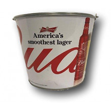 "Budweiser ""Americas Smoothest Lager""  Beer  Bucket"