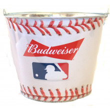 "Budweiser ""Baseball Laces""  Beer  Bucket"