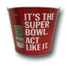 "Budweiser ""Its a Super Bowl Act Like It""  Beer  Bucket"