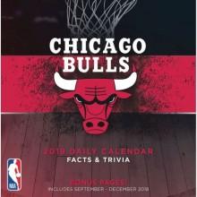 Chicago Bulls 2019 Boxed Desk Calendar