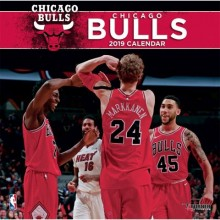 Chicago Bulls  12 x 12 Wall Calendar 2019