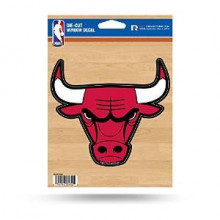 "Chicago Bulls 5"" x 6"" Die-Cut Window Decal"