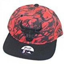 Chicago Bulls Red Splash Youth Adjustable Hat