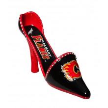 Calgary Flames Wine Shoe Bottle Holder