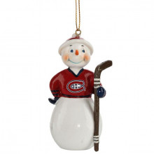 Montreal Canadiens Jock Frost Snowman Ornament