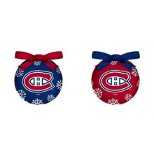 Montreal Canadiens LED Ball Ornaments Set of 2
