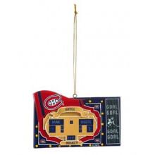 Montreal Canadiens Team Scoreboard Ornament