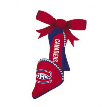 Montreal Canadiens Team High Heel Shoe Ornament