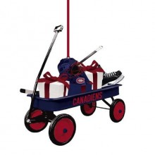 Montreal Canadiens Team Wagon Ornament