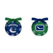 Vancouver Canucks LED Ball Ornaments Set of 2