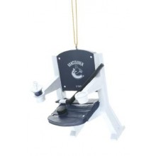 Vancouver Canucks Team Stadium Chair Ornament
