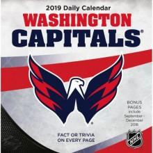 Washington Capitals 2019 Boxed Desk Calendar