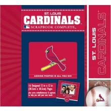 St. Louis Cardinals 12 x 12 Complete Scrapbook Kit