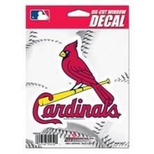 "St. Louis Cardinals 5"" x 5"" Die-Cut Window Decal"