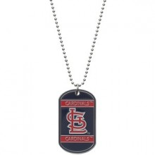 St. Louis Cardinals Dog Tag Necklace