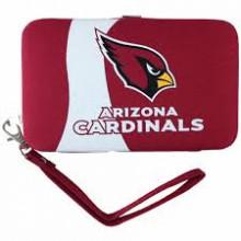 "Arizona Cardinals  Distressed Wallet Wristlet Case (3.5"" X .5"" X 6"")"