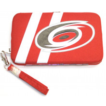"Carolina Hurricanes Distressed Wallet Wristlet Case (3.5"" X .5"" X 6"")"