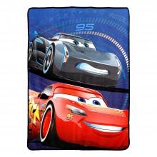 Disney Pixar Cars Competitive Edge Super Plush Fleece Throw 46x60