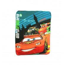 """Disney Pixar Cars """"McQueen Rocks"""" Fleece Throw 40""""x50"""""""