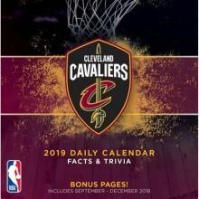 Cleveland Cavaliers 2019 Boxed Desk Calendar