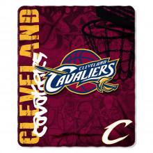 NBA Cleveland Cavaliers Hardknocks Fleece Throw Blanket