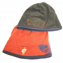 Cleveland Cavaliers Fleece and Knit Reversible Knit Hat