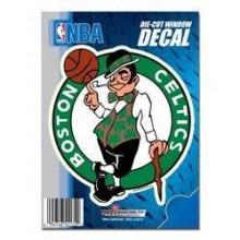"Boston Celtics 5"" x 6"" Die-Cut Window Decal"