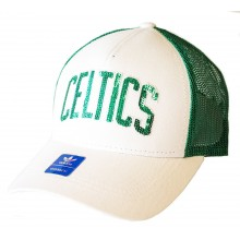NBA Licensed Boston Celtics Sequin Snapback Hat Cap